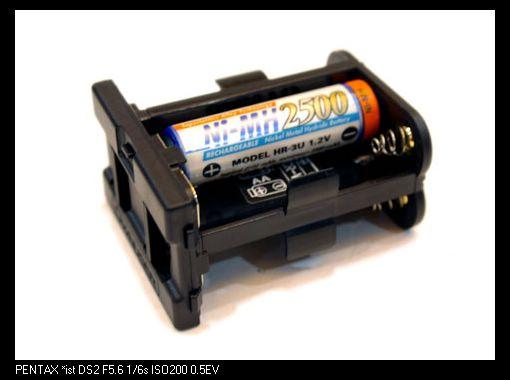 小兔..PENTAX 副廠電池手把報到給DS/DL